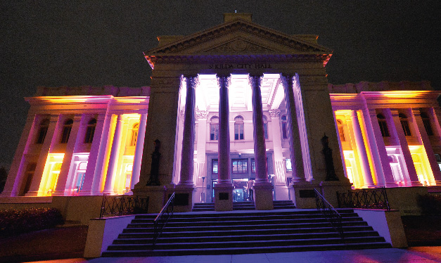 St Kilda Town Hall_night