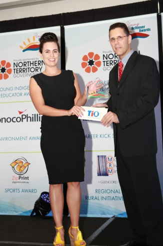 Amanda Lilleyman NT Young Achieve Award Australia