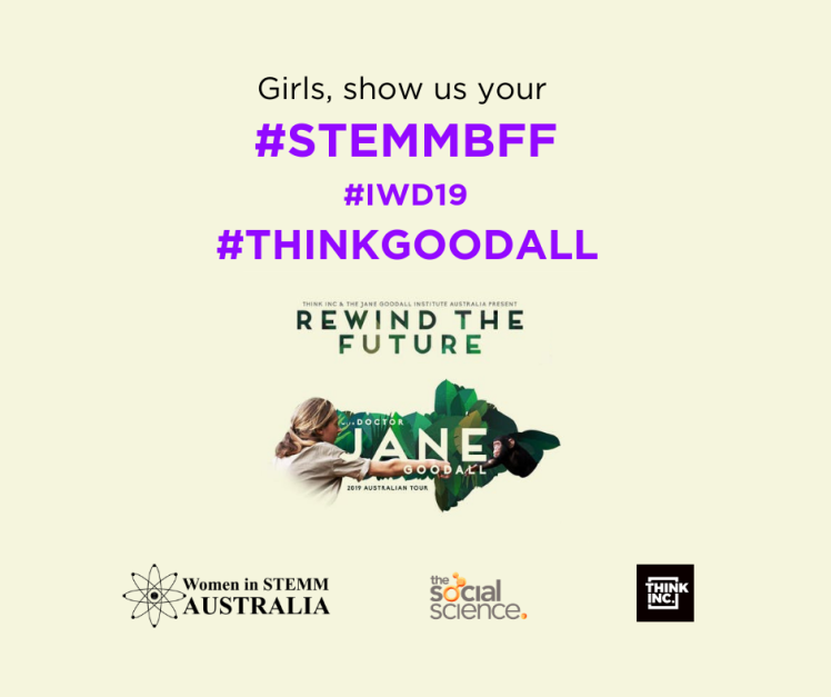 NOW ENDED: MY #STEMMBFF – Win Tickets to Jane Goodall's 2019